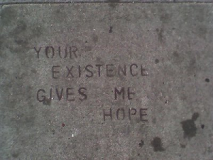 Writing On Pavement